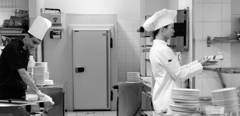 Vendéglátás, konyhák