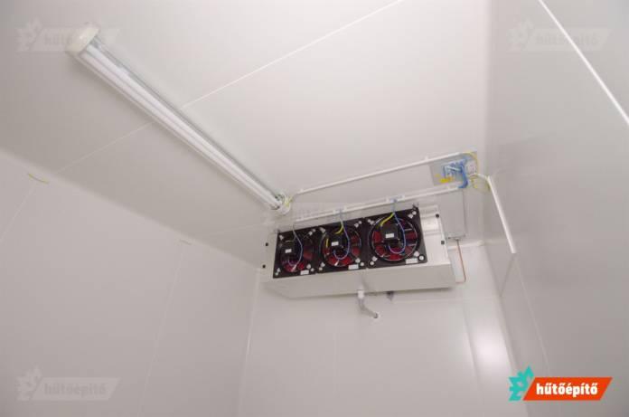 Atex hűtőkamra