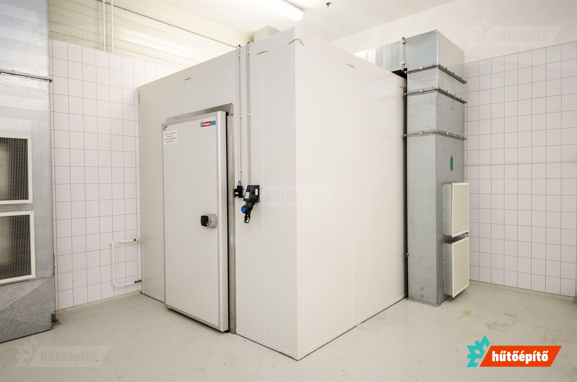 Atex robbanásbiztos hűtőkamra