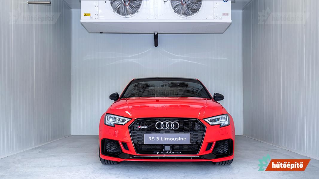 Extrém klímakamra az Audi Hungaria Zrt.-nek