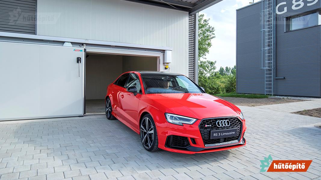 Audi tesztakmra