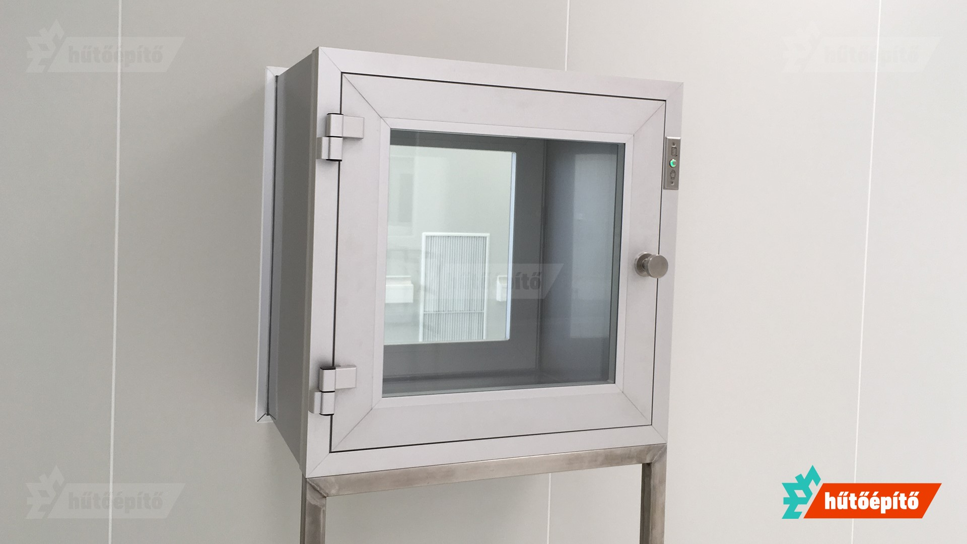 hutoepito kleanlabs tisztateri anyagatadok ISO14644 atado szekreny