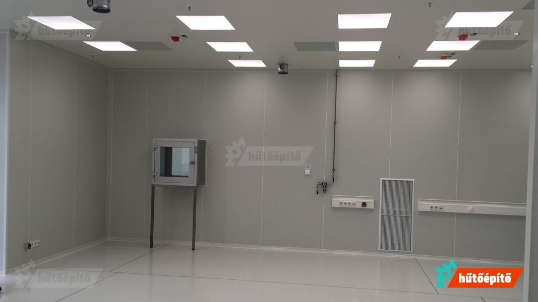 hutoepito kleanlabs tisztateri anyagatadok ISO14644 labor tiszater anyagatadoval