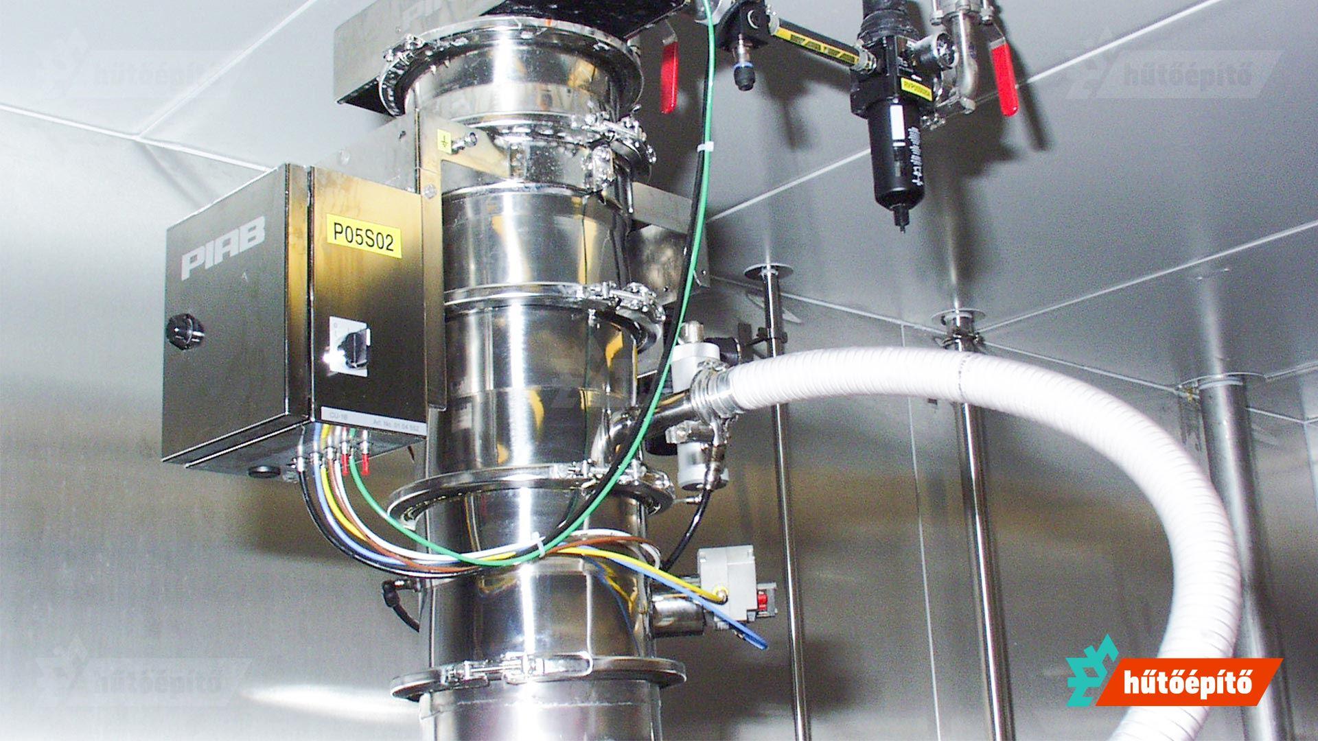 hűtőépíto klíma és teszt teszkamra berendezése