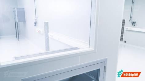 Hűtőépítő Tisztaterek tisztatéri mikrobiológiai labor