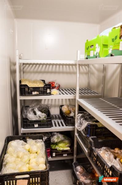 Polcrendszer hűtőbe