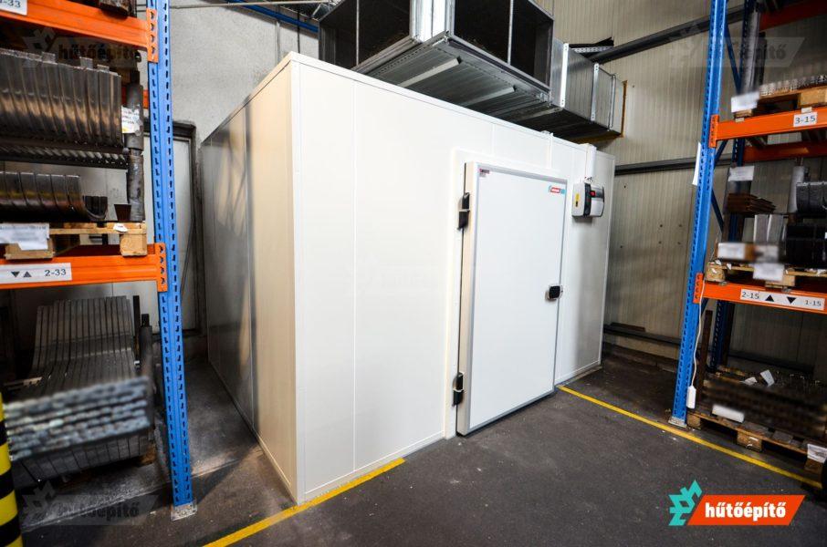 A hűtőkamra a gyártási folyamatok integrált része