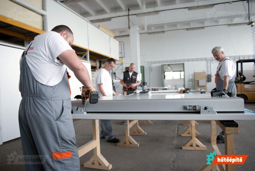 A termélési rendszerünk több, mint évi 5000 termék gyártását teszi lehetővé
