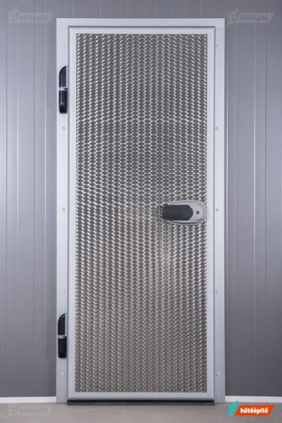 Igloodoors hűtőkamra nyílóajtó, premium fém felülettel